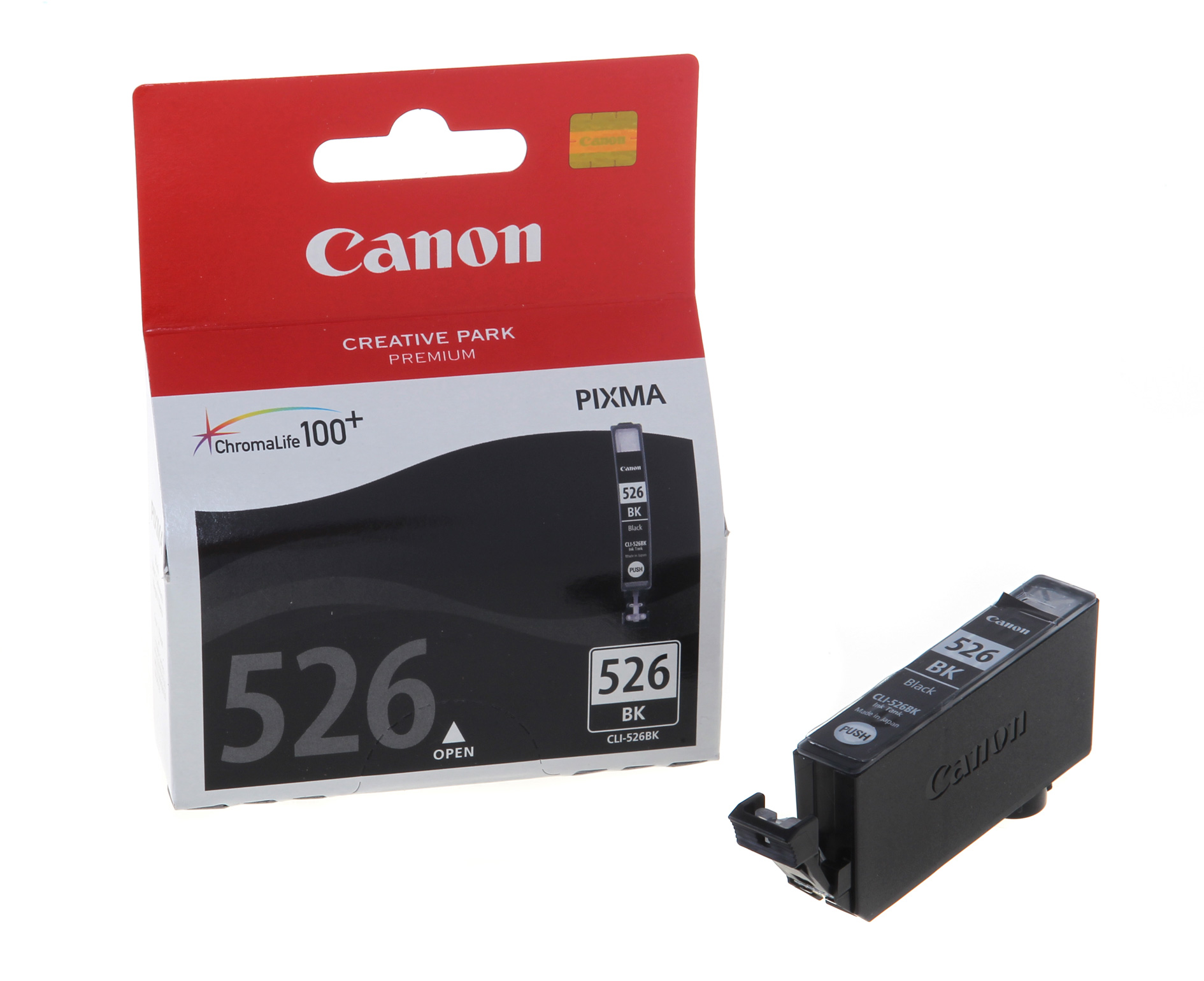 Buy Genuine Canon CLI-526 BLK Black Ink Cartridge online | Castlegate  Stationers
