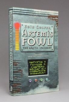 Artemis_ Fowl_ The_ Artic_ Incident_ by_ Eoin_ Colfer_ Signed_ Copy