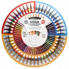 Mega Colour Wheel. Multi Media.